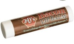 In honor of International Bacon Day: Bacon Flavored Lip Balm!