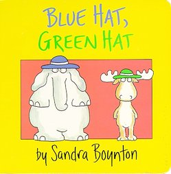 Blue Hat Green Hat I want to be your personal penguin