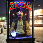 Tis almost Halloween. Do you know where your costume is? Let Zoltar inspire you…