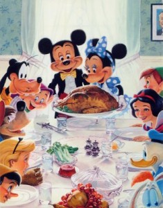 disney thanksgiving 235x300 Happy Thanksgiving to all! Except, well, the bird...