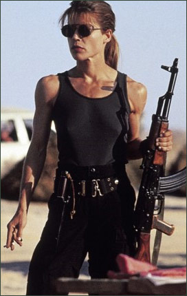 Sarah Connor Sarah Connor I aint. Ay, theres the rub.