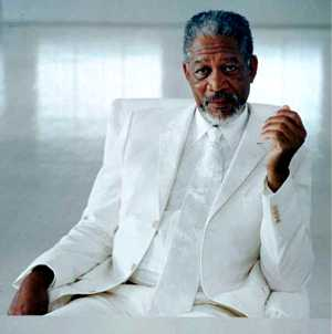 morgan freeman Morgan Freeman made me do it!