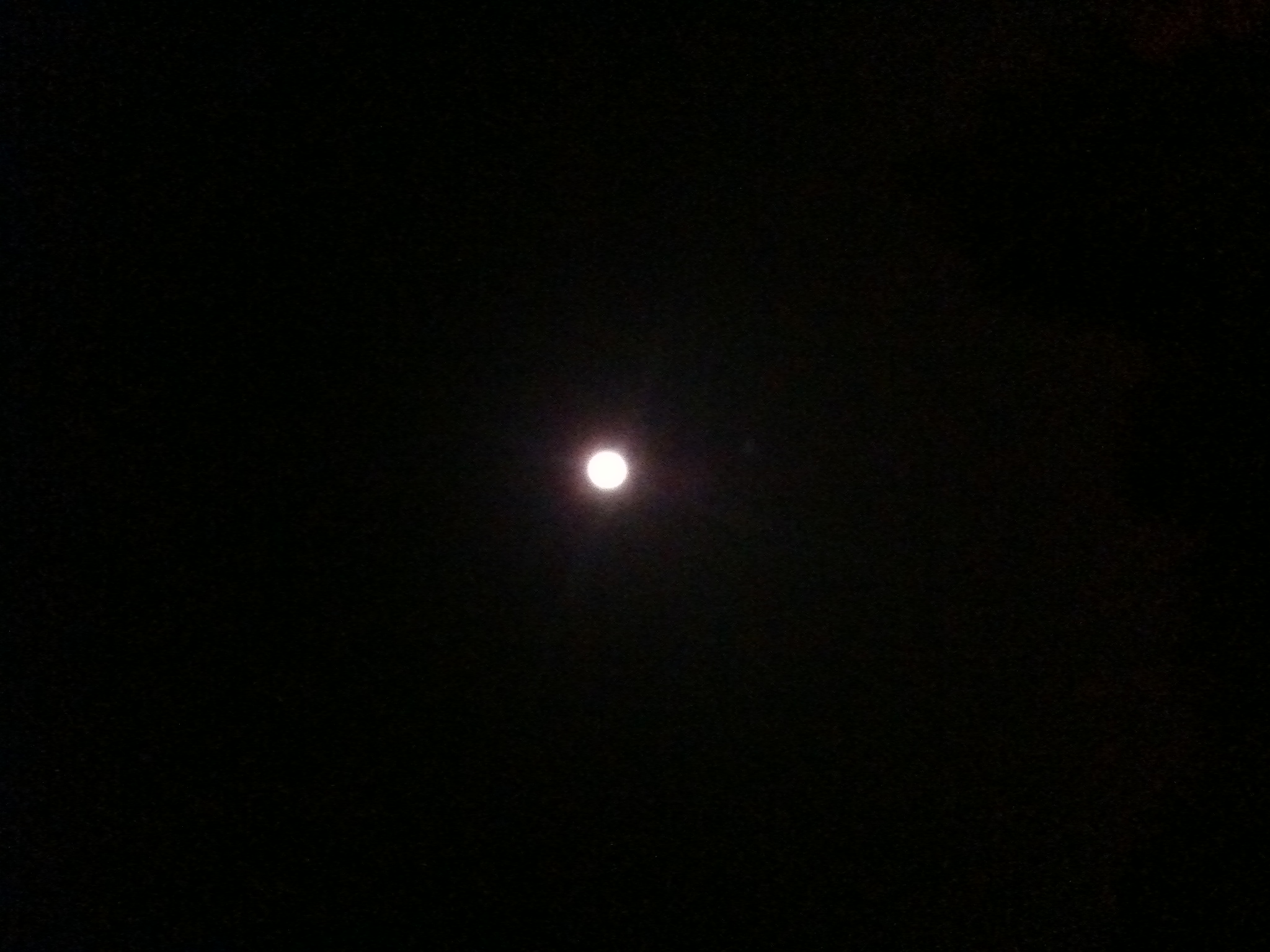 photo So I made it up by trying to capture the image of Super Harvest Moon for ...