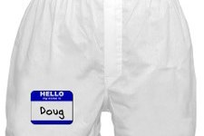 We can't be friends if your name is Doug