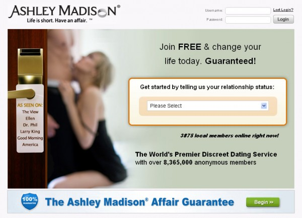 Ashley Madison ugh 600x434 The Antidote to VD