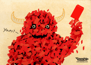 red envelope monster 300x215 Red Envelopes