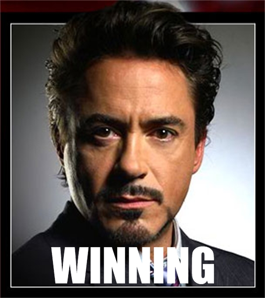 Iron Man WTF Wednesday? Duh. Winning!