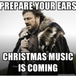 funny christmas music is coming 150x150 Bring back Thanksgiving! Please, no Christmas decorations until Black Friday...