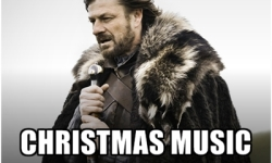 Seriously people: No Christmas decorations or music yet. Bring Back Thanksgiving!!!