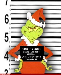 Grinch mugshot 243x300 Merry Christmas dear, and oh by the way...
