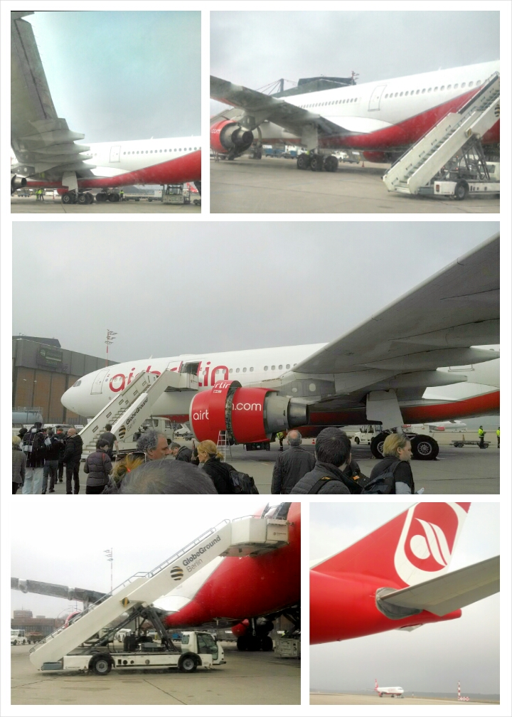 Thank you for the tour of the runway Air Berlin